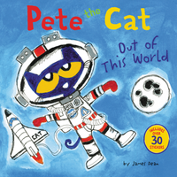 Купить Pete the Cat: Out of This World, Зарубежная литература для детей