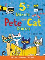 Купить Pete the Cat: 5-Minute Stories, Зарубежная литература для детей