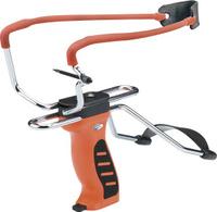 Купить Рогатка Man Kung , с упором и прицелом, цвет: оранжевый, Рогатки