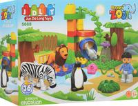 Купить Concord Toys Конструктор Мини-Зоопарк, SHANTOU JINHE TRADING CO., LTD (Шантоу ДжинТрейдинг Ко., ЛТД.), Конструкторы