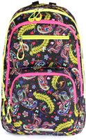 Купить Рюкзак детский UFO people цвет черно-фиолетовый 7655, XIAMEN LI FENG YUAN IMPORT AND EXPORT, Ранцы и рюкзаки