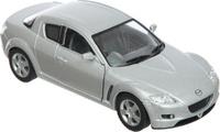 Купить Kinsmart Модель автомобиля Mazda RX-8 цвет серебристый, Машинки