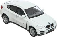 Купить Kinsmart Модель автомобиля BMW X6 цвет белый, Машинки