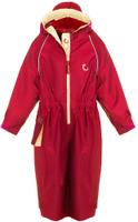 Купить Комбинезон детский Hippychick, цвет: вишневый. 002001100397. Размер 80/86, 12-18 месяцев, Одежда для девочек