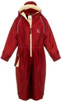 Купить Комбинезон детский Hippychick, цвет: рубиновый. 002001100401. Размер 80/86, 12-18 месяцев, Одежда для девочек