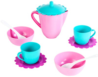 Купить Mary Poppins Игровой чайный набор Зайка 10 предметов, Сюжетно-ролевые игрушки