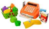 Купить Shantou Gepai Игровой набор Касса с набором продуктов, Сюжетно-ролевые игрушки