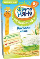 Купить ФрутоНяня каша рисовая безмолочная с 4 месяцев, 200 г, Детское питание