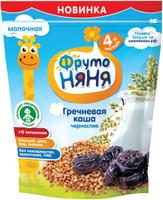 Купить ФрутоНяня каша гречневая с черносливом молочная с 4 месяцев, 200 г, Детское питание