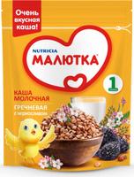 Купить Малютка каша молочная гречневая с черносливом, с витаминами и минералами, с 4 месяцев, 220 г, Детское питание