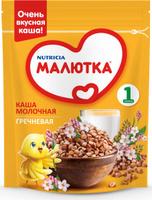 Купить Малютка каша молочная гречневая с витаминами и минералами, с 4 месяцев, 220 г, Детское питание