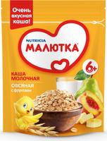Купить Малютка каша молочная овсяная с фруктами, с витаминами и минералами, с 6 месяцев, 220 г, Детское питание