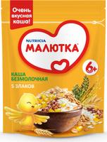 Купить Малютка каша 5 злаков, с витаминами и минералами, с 6 месяцев, 200 г, Детское питание