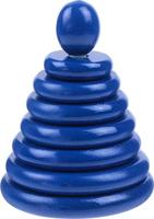 Купить RNToys Пирамидка цвет синий, Развивающие игрушки