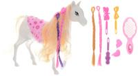 Купить Shantou Gepai Лошадка для кукол цвет белый, Куклы и аксессуары
