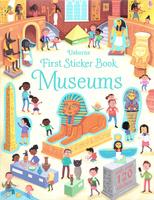 Купить First Sticker Book Museums, Книжки с наклейками