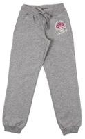 Купить Брюки спортивные для девочки Cherubino, цвет: серый меланж. CAJ 7590. Размер 128, Одежда для девочек