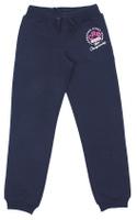 Купить Брюки спортивные для девочки Cherubino, цвет: темно-синий. CAJ 7590. Размер 128, Одежда для девочек