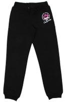 Купить Брюки спортивные для девочки Cherubino, цвет: черный. CAJ 7590. Размер 128, Одежда для девочек