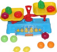 Купить Полесье Игровой набор Весы и набор продуктов 12 элементов, Сюжетно-ролевые игрушки