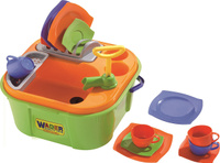 Купить Полесье Игровой набор Мини-посудомойка, Сюжетно-ролевые игрушки