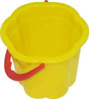 Купить Полесье Игрушка для песочницы Ведро малое Цветок, Игрушки для песочницы