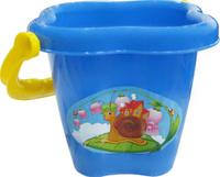 Купить Полесье Игрушка для песочницы Ведро среднее Цветок, Игрушки для песочницы