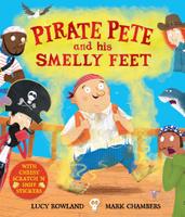 Купить Pirate Pete and His Smelly Feet, Зарубежная литература для детей