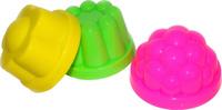 Купить Полесье Игрушка для песочницы Формочки 3 шт, Игрушки для песочницы