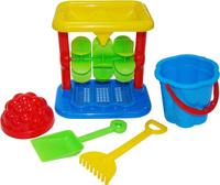 Купить Полесье Набор игрушек для песочницы №347, Игрушки для песочницы
