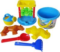 Купить Полесье Набор игрушек для песочницы №350, Игрушки для песочницы