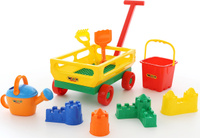 Купить Полесье Набор игрушек для песочницы №493, Игрушки для песочницы