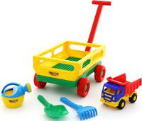 Купить Полесье Набор игрушек для песочницы №494, Игрушки для песочницы