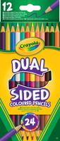 Купить Crayola Набор двусторонних карандашей 12 шт, Карандаши