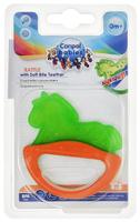 Купить Canpol Babies Погремушка-прорезыватель Лошадка цвет зеленый оранжевый, Первые игрушки