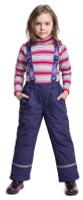 Купить Брюки утепленные для девочки PlayToday, цвет: фиолетовый. 372055. Размер 98, Одежда для девочек