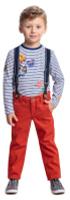 Купить Брюки для мальчика PlayToday, цвет: оранжевый. 371062. Размер 98, Одежда для мальчиков