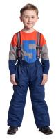 Купить Джемпер для мальчика PlayToday, цвет: оранжевый, серый, синий. 371057. Размер 128, Одежда для мальчиков