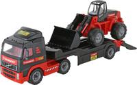 Купить Полесье Трейлер Mammoet Volvo 204-03 и трактор-погрузчик, Машинки