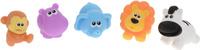 Купить Win Fat Игрушка для ванной Зверята из джунглей 5 шт, Первые игрушки