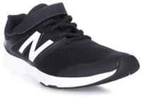 Купить Кроссовки детские New Balance, цвет: черный, белый. KXPREMBY/M. Размер 1, 5 (33), Обувь для девочек