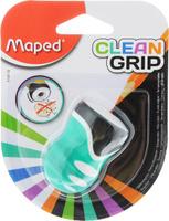 Купить Maped Точилка Clean Grip цвет зеленый, Чертежные принадлежности