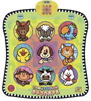 Купить Знаток Игровой музыкальный коврик Танцующий зоопарк, Развивающие коврики