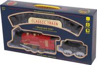 Купить Yako Железная дорога Классический поезд цвет локомотива красный, Железные дороги