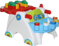 Купить Полесье Развивающий игровой центр Беби + конструктор 17 элементов, Развивающие игрушки