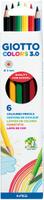 Купить Giotto Набор цветных карандашей Colors 3.0 6 шт, Карандаши