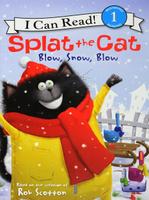 Купить Splat the Cat: Blow, Snow, Blow: Level 1, Зарубежная литература для детей