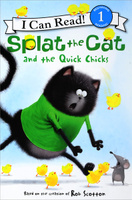 Купить Splat the Cat and the Quick Chicks: Level 1, Зарубежная литература для детей