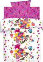 Купить Комплект детского постельного белья Trolls Принцесса Розочка , 1, 5-спальный, наволочка 70х70, Постельное белье