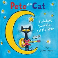 Купить Pete the Cat: Twinkle, Twinkle, Little Star Board Book, Зарубежная литература для детей
